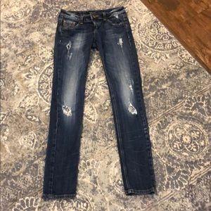 """Vigors """"the Dublin"""" skinny jeans."""